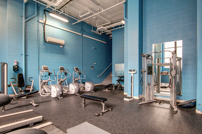24-Hour Fitness Center - HH Midtown - Luxury Student Apartments Steps Away from UB and JHU!