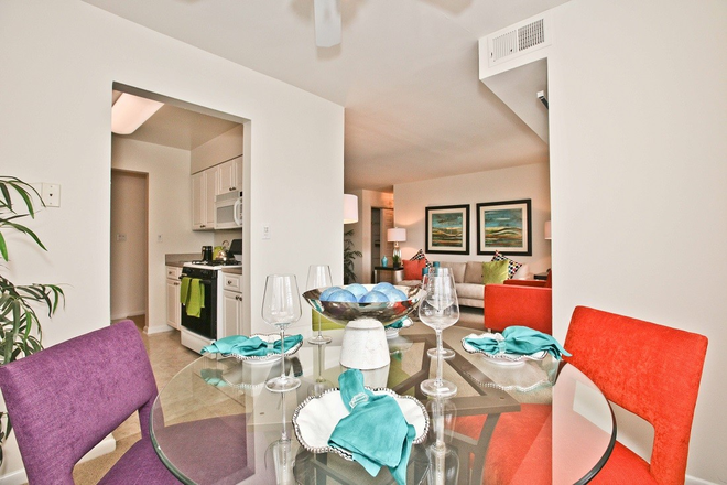 Dining Room in Fairfax Apartment at Fairfax Square