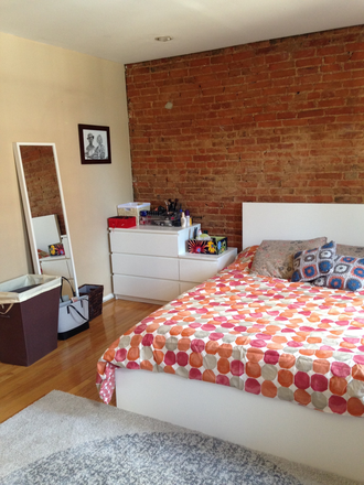Bedroom, queen bed in room - Large 1-bedroom available December/January Townhome