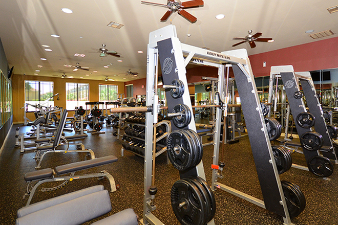 Fitness room - Callaway Villas Apartments
