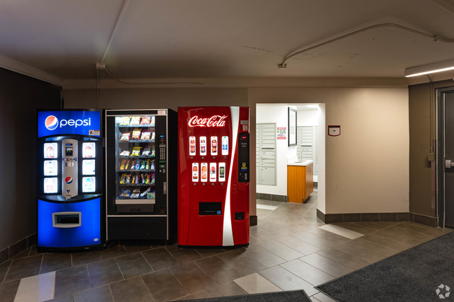 Vending Machines and Mail Room