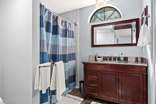 Bathroom 1 - 2 BR/2 BA Condo Across from Town Centre