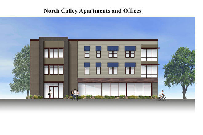 Colley Ave Elevation - North Colley Apartments