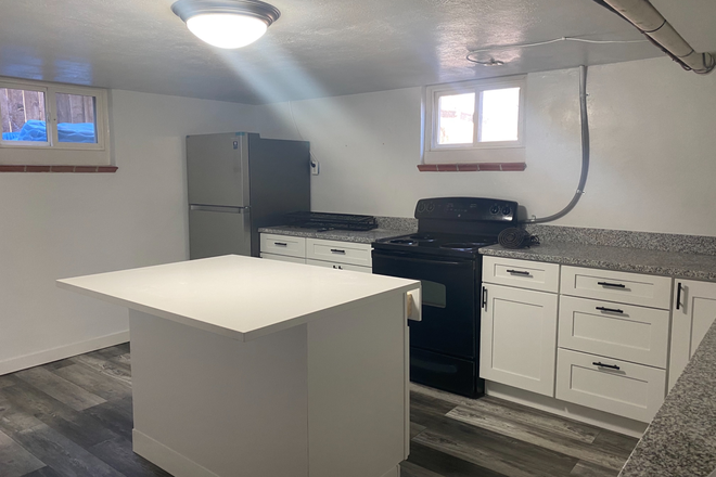 Remodeled kitchen - Remodeled 1 bedroom apartment available now