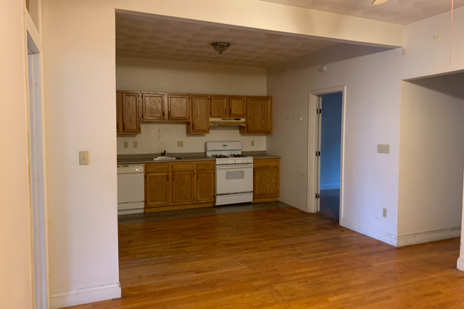kitchen and living room - Large 4 Bed, close to campus Apartments