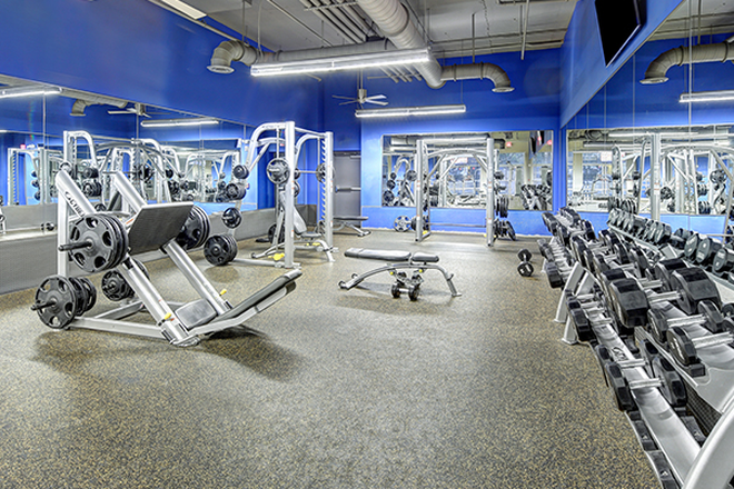 13,000 Sq. Ft. Fitness Center