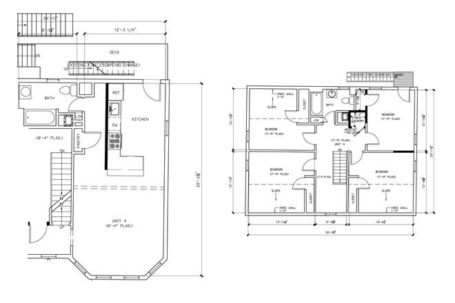 Floor plan - ASH STREET - NEWLY RENOVATED 4 BED 2 BATH APARTMENT
