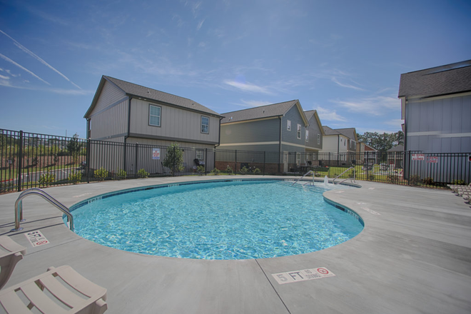 Community Pool with Large Sun Deck