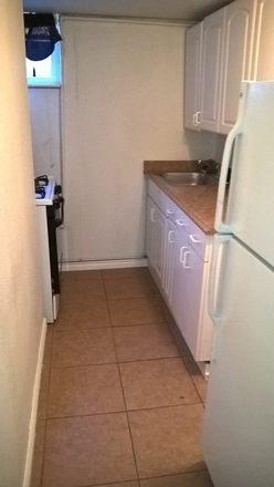 Kitchen - 1 Bedroom / 1 bath Apartment INCLUDES ALL UTILITES (BASEMENT UNIT)