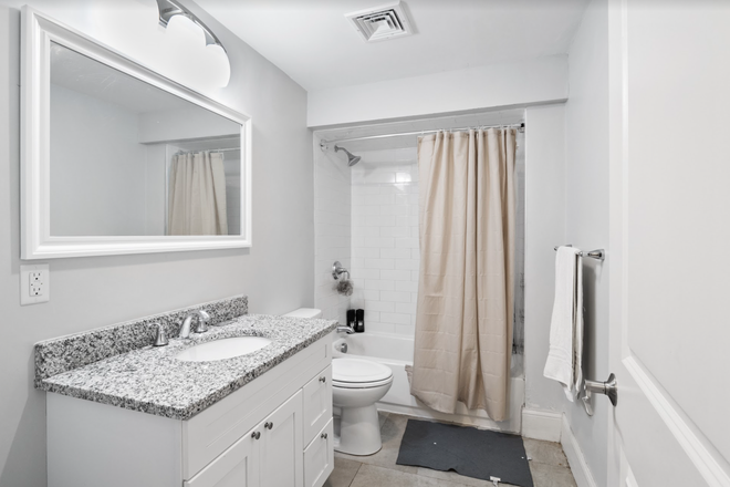 Bathroom - Rent a Private Bedroom in a Beautiful 7 bed/3 bath Apartment in Waltham!
