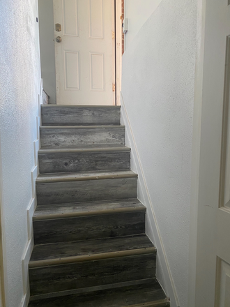 Stairs to basement apartment - Remodeled 1 bedroom apartment available now