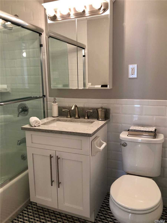 Bathroom - Levittown Apartment
