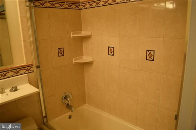 Bathroom - Furnished One Bedroom Condo
