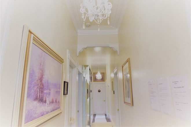 one small part of the hallway..... - 0.5 min. to USF, Beautiful&Cozy White House, Inside&Outside Rental