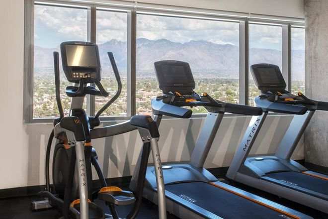 Fitness overlooking Tucson