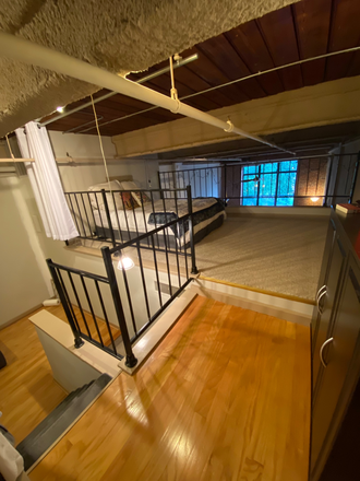 Loft with additional  bed