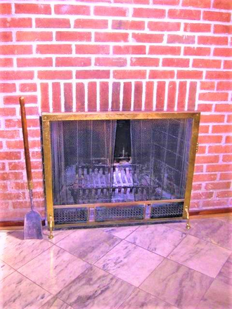 Downstairs fireplace - Beautiful, Remodeled  Otterbein Rowhome $1750 Townhome