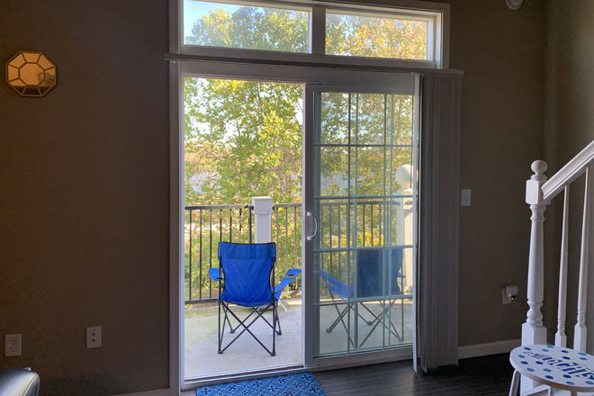 Balcony and Outside View - Sublet for spacious bedroom at The Wyatt (close to campus!) Apartments