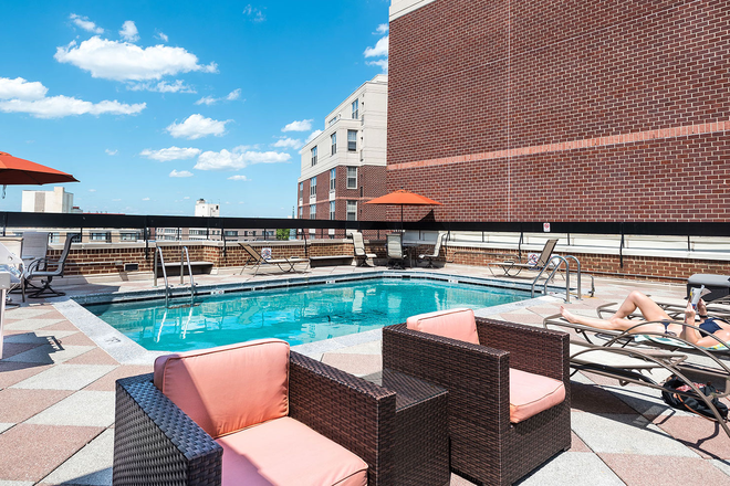 Pool - Harrington Residence Apartments