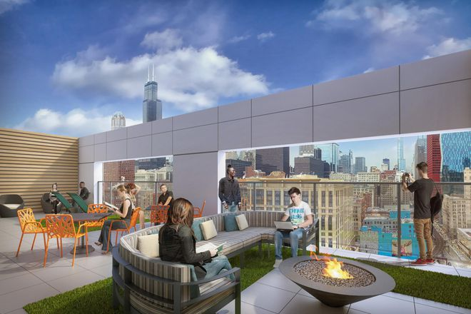 Sky Deck with Panoramic Views of Chicago