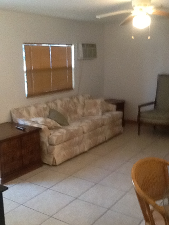 Living Room - Furnished -1 bedroom with Washer/Dryer includes utilities - only 5 minutes from Palmer Apartments