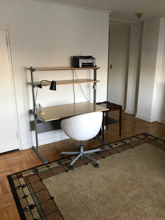 Desk - Beautiful, Large, Furnished Studio, Art Museum Area, Free Gym and Shuttle, 2601 Parkway Condominiums