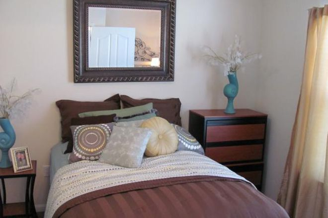 Our bedrooms even come fully furnished!