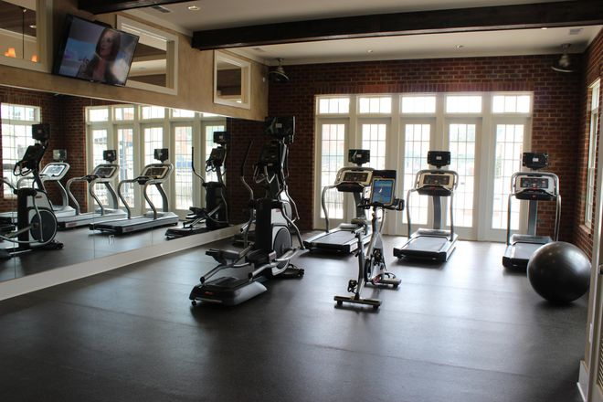 24 Fitness Center with Cardio Theatre