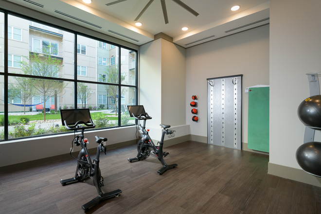 Spin/Yoga Studio - The Standard at Charlottesville Apartments