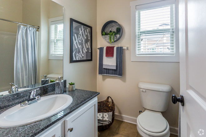 4 BR, 4.5 BA - Springmore - First Bathroom