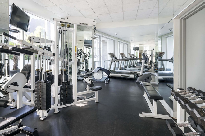 Fitness room - Harrington Residence Apartments