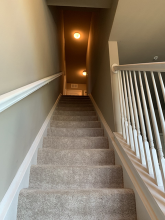 Stairway - Sublet for spacious bedroom at The Wyatt (close to campus!) Apartments