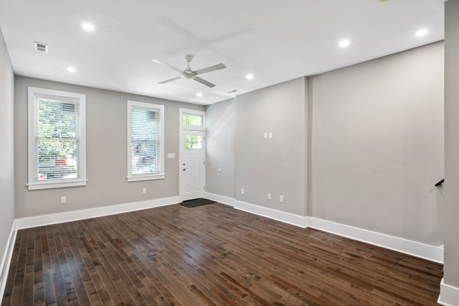 Living Room - Beautifully Renovated Christian Street Home Close to Campuses Rental