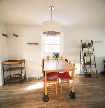 Dining Area - Light, Airy Room Available in Quiet, Lovely House w/ Yard Rental