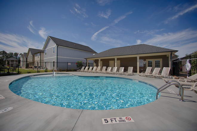 Pool area - The Haven at Kennesaw Rental