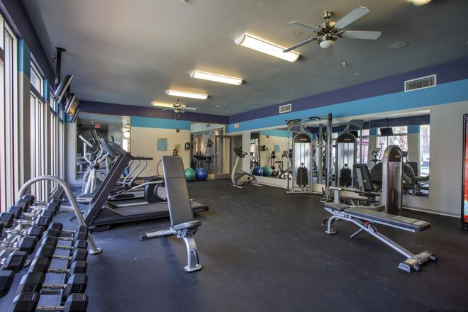 Sweat in style as you get fit in your 24-Hour Fitness Center!