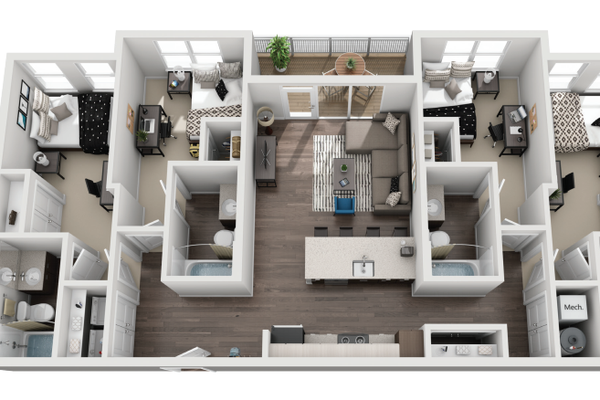 160 Ross Floor Plans: Off Campus Housing Search