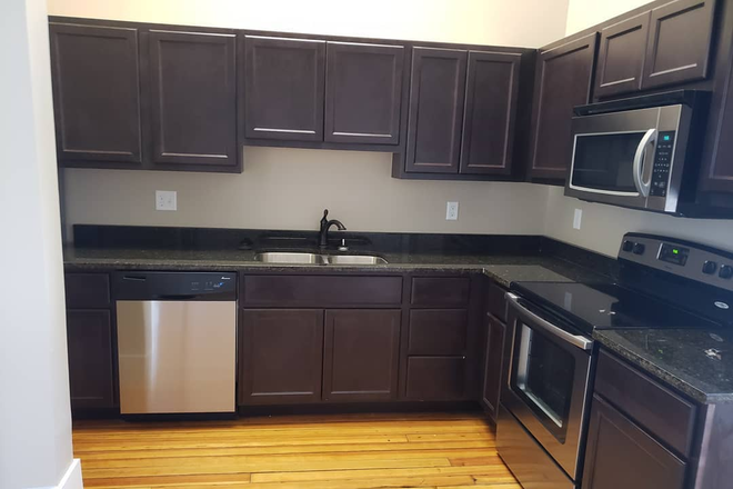 Kitchen - Pierce School Lofts, Located in the Village of East Davenport