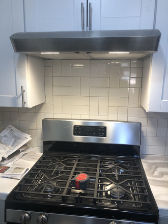 New gas stove - Park Hill Bunglow Rental