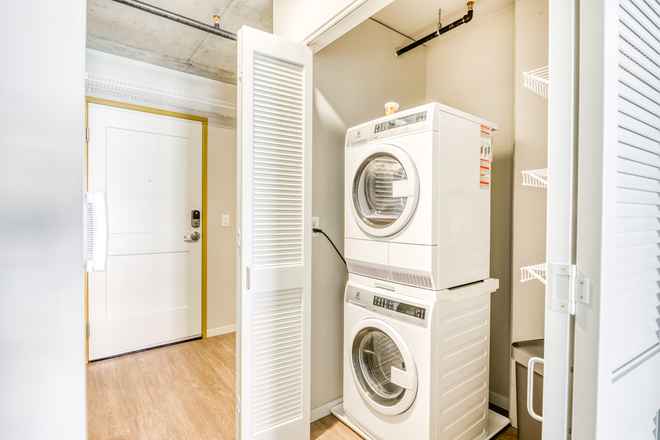 Washer and Dryer in each apartment - Brand New Studios starting around $900 with the best amenities and 5 minute walk to St. Thomas Law Apartments