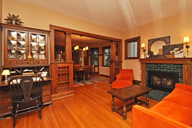 Main Living Room + Fireplace