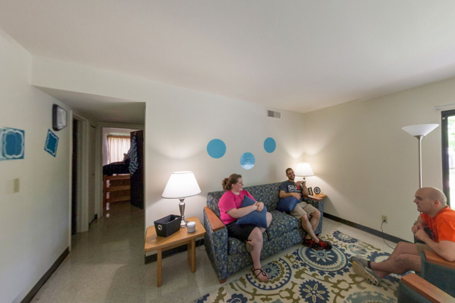 living room - Cougar Village Apartments