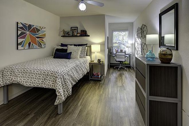 Bedroom B - Village at Science Drive Apartments