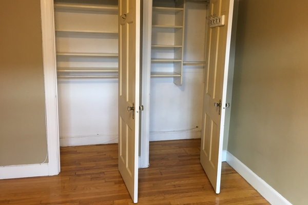 Closets in Room for Rent