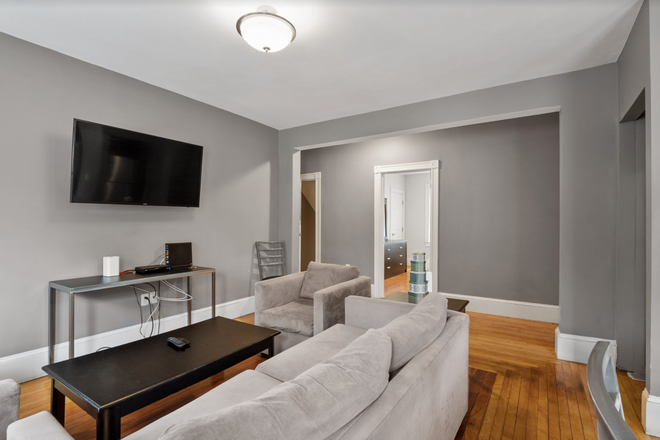 Living Room - Rent a Private Bedroom in a Beautiful 7 bed/3 bath Apartment in Waltham!