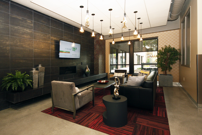 Luxury Resident Lounge - The Elysian Apartments