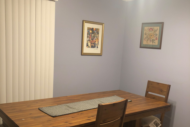 Dining area - Townhouse room with utilities included-Available May 20, 2021