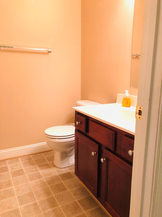 Shared Full Bathroom - Furnished Wyndhurst Townhouse incl Util & WiFi, 2-3 Rooms avail, $425 ea/4 students, 6 miles from LU