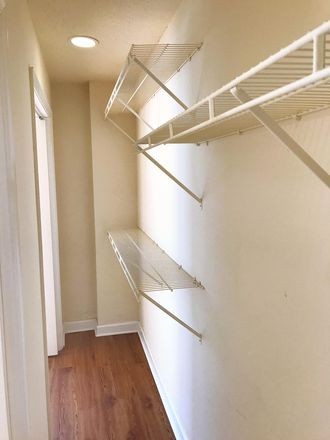 Large closet in one bedroom