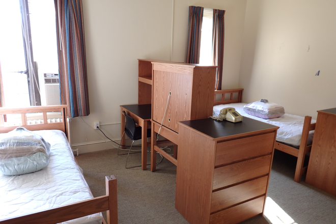 Main Building Double Room - International Student House, DC Rental